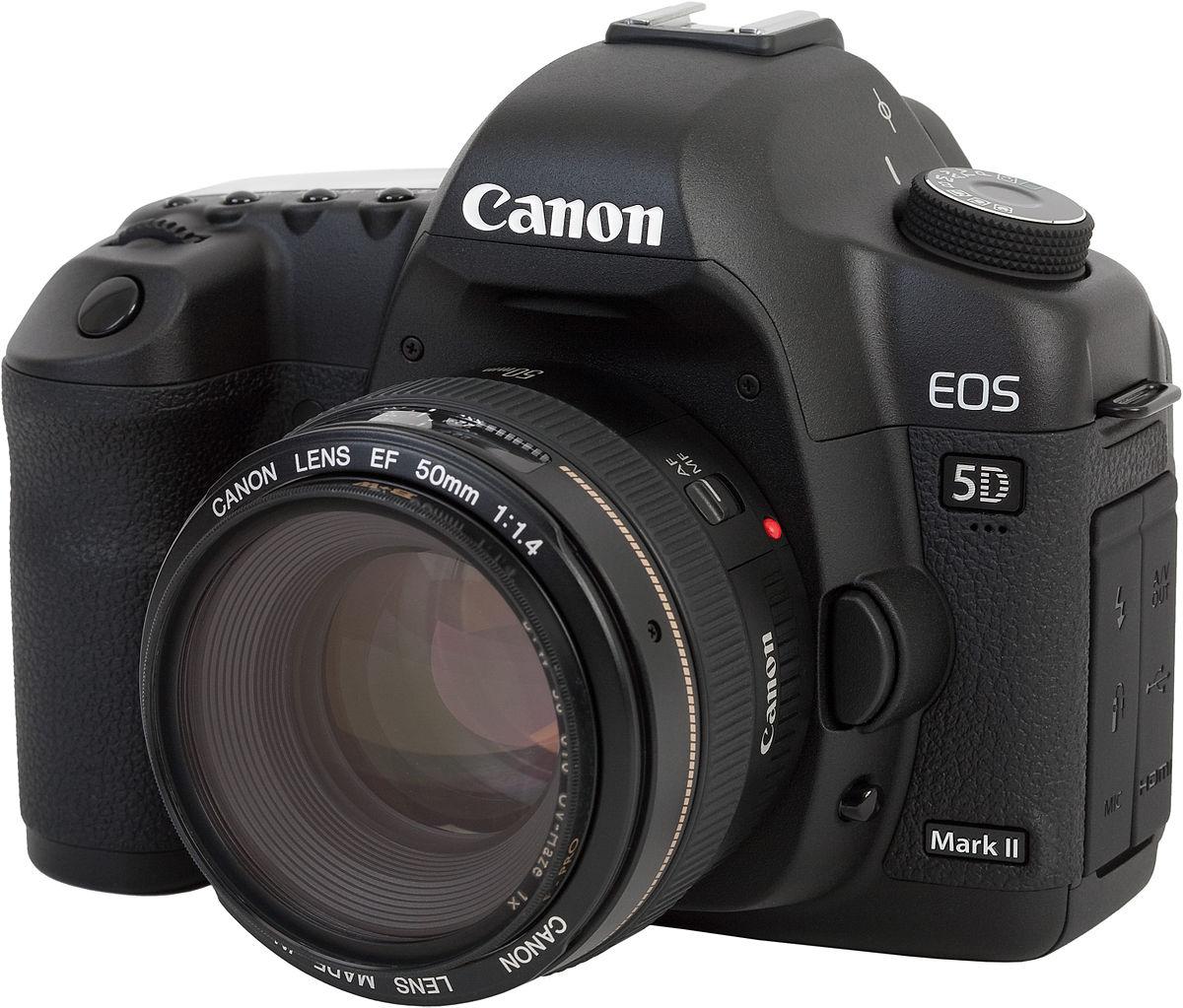 Canon eos 5d mark ii wikip dia for Canon 5d especificaciones