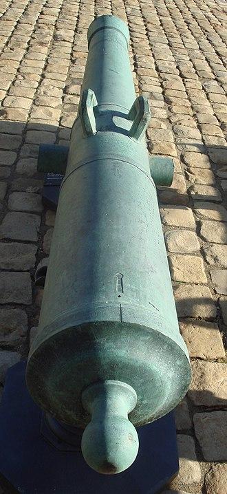 Canon lourd de 12 Gribeauval - Canon lourd de 12 Gribeauval Le Conquérant, for siege warfare.