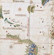 Ilha de Fernando de Noronha-Discovery-Cantino west