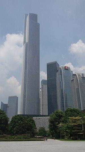 Guangzhou CTF Finance Centre - Image: Canton CTF Finance Center (2016 08 22)
