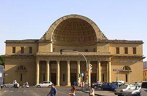 """Cisternoni of Livorno - """"La Gran Conserva"""" of Livorno designed in 1829"""