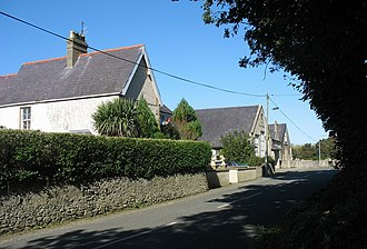 Bryngwran - Image: Capel Hebron geograph.org.uk 977063