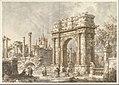 Capriccio with a Roman Triumphal Arch MET DP820202.jpg