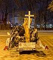 Car accident memorial - Unfall Denk mal - Frankfurt - Germany - 01.jpg