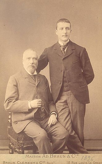 Constantin Carathéodory - Constantin Caratheodory with his father.