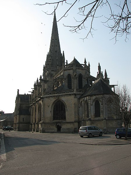 Eglise de Carentan, NormandieCarentan churche, Normandy