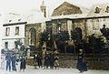 Carhaix 59 Le couvent des Hospitalières au début du XXe siècle (l'emplacement est occupé par la poste désormais).jpg