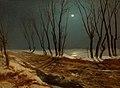 Carl Blechen - Landschaft im Winter bei Mondschein (1836).jpg