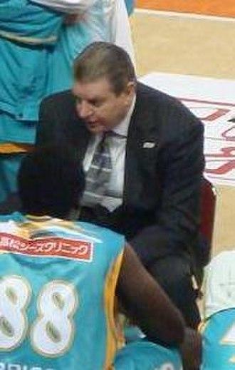Johnny Neumann - Neumann coaching Takamatsu Five Arrows in 2010