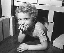 Il piccolo principe Carlo Gustavo in una fotografia del 1949