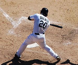 Carlos Quentin - Image: Carlos Quentin Home Run 1