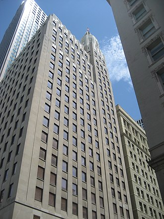 National American Bank Building - West facade 2009