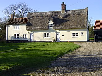 Lawshall - Carpenters Cottage - formerly the Carpenters Arms