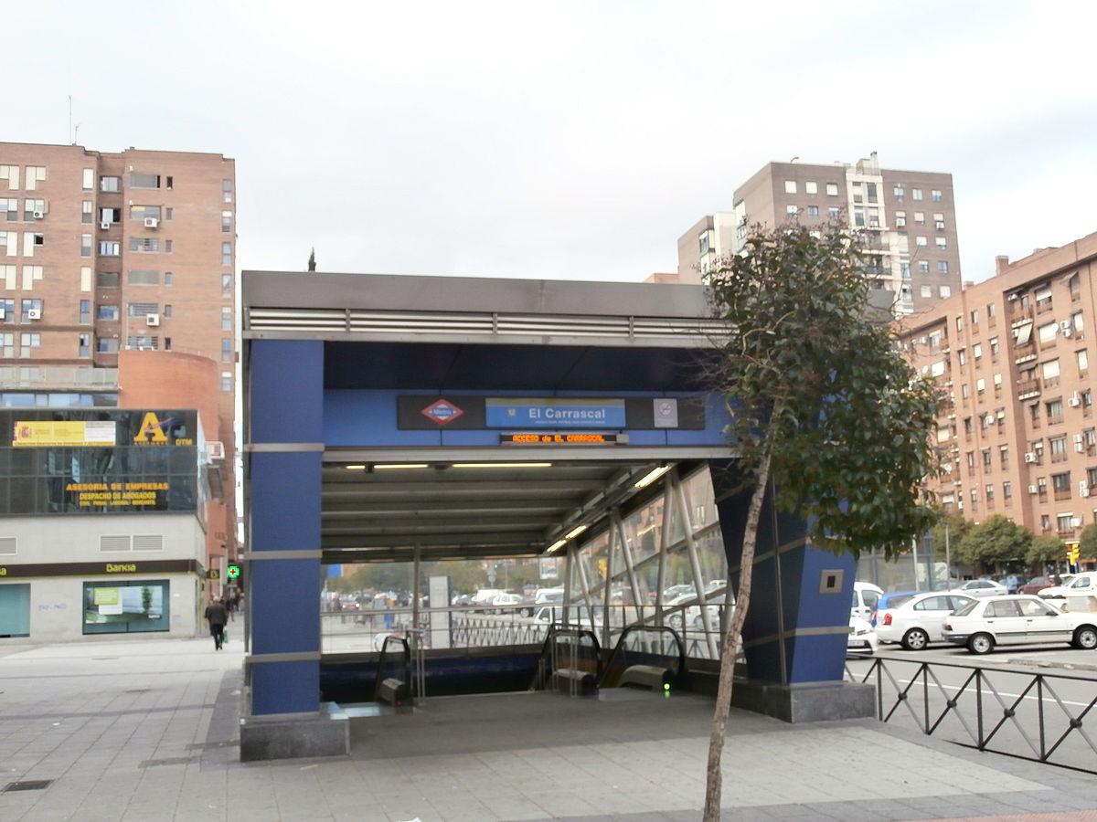 Estación de El Carrascal - Wikipedia, la enciclopedia libre