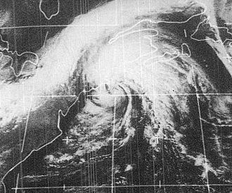 1972 Atlantic hurricane season - Image: Carrie 1972