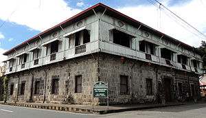 "Tayabas - Casa Comunidad de Tayabas is the biggest ""Bahay na Bato"" ever restored by the National Historical Institute"