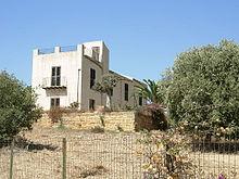 La casa natale di Pirandello, in località Caos