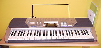 Casiotone - Image: Casio CTK 496 keyboard