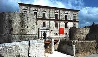 Teggiano - Castle of Teggiano.