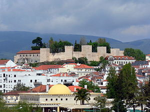 Torres Novas - A view of the historic castle of Torres Novas