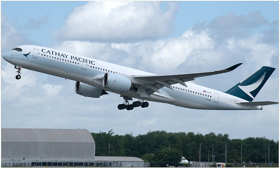 Cathay Pacific, Airbus A350-941, B-LRN (35200274191)