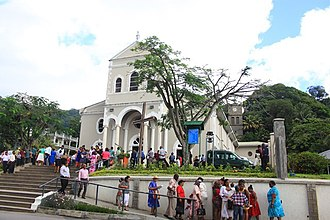 Immaculate Conception Cathedral, Seychelles - Image: Cathedral of the Immaculate Conception, Victoria, Seychelles