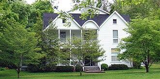Frenchburg, Kentucky - The historic Caudel House