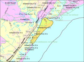 Census Bureau map of Ocean City, New Jersey.png
