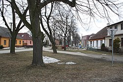 Center of Čáslavice, Třebíč District.jpg