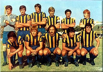 Rosario Central - Rosario Central team that won its first league title, 1971 Nacional