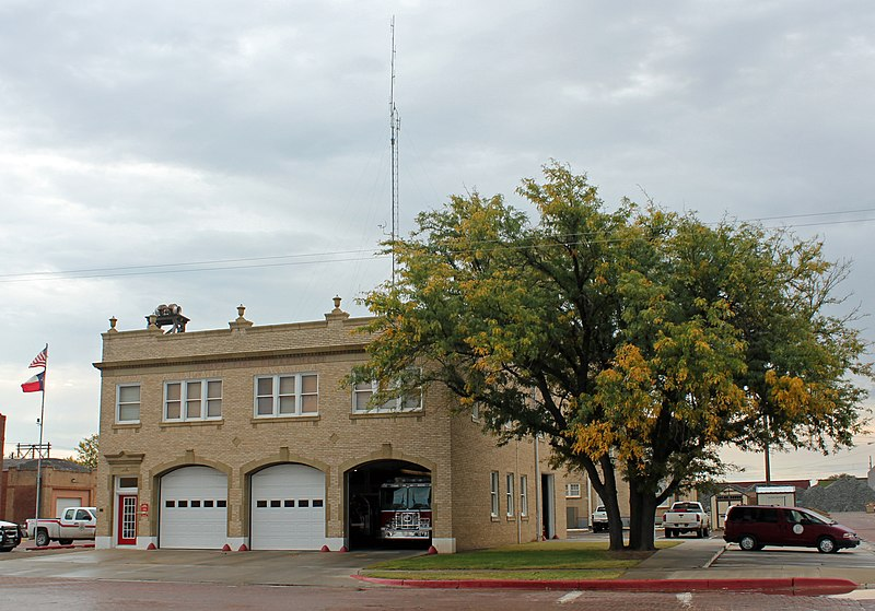 Pampa (TX) United States  City pictures : Central Fire Station Pampa, Texas Wikipedia