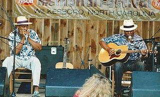 Cephas & Wiggins American blues duo