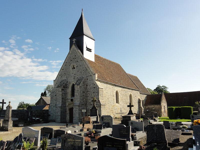 Cerny-lès-Bucy (Aisne) église