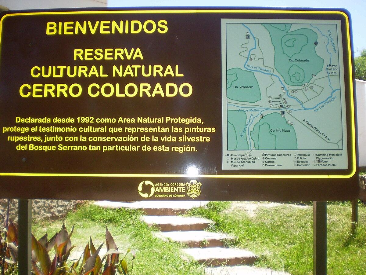Resultado de imagen para cerro colorado córdoba argentina