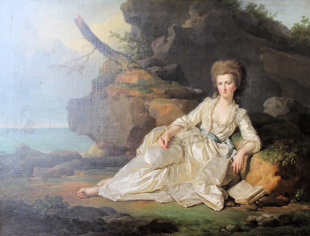 Château de Chantilly, Joseph Siffred Duplessis, portrait of Louise Marie Adélaïde de Bourbon.JPG
