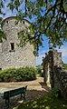 Château de Montaigne - tower - view from garden (26893788666).jpg