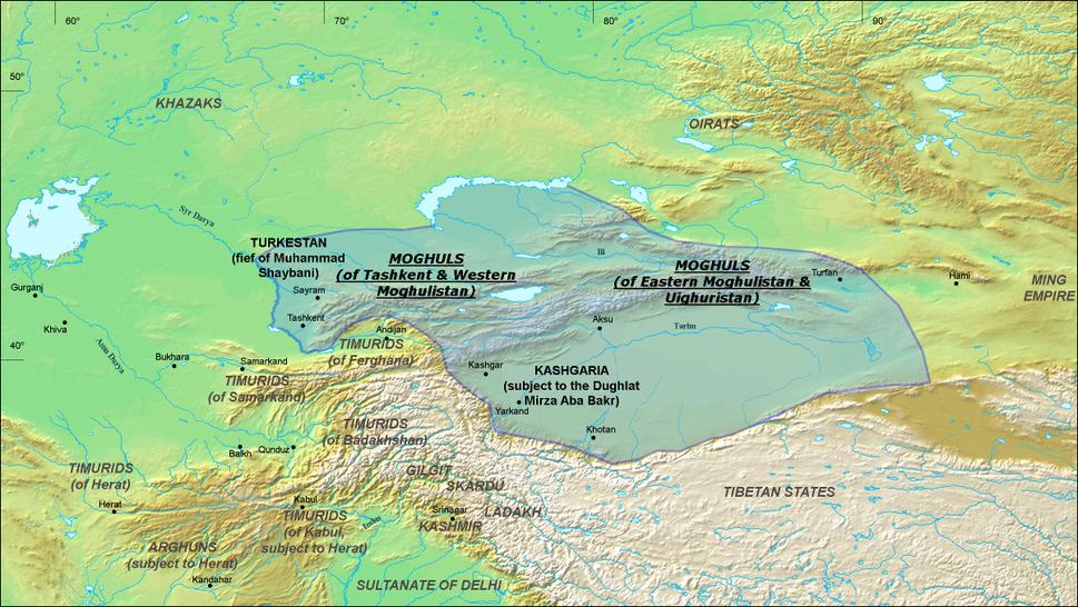 Chagatai Khanate (1490)