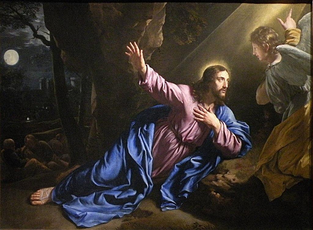 Champaigne - Le Christ au jardin des oliviers