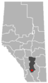 Champion, Alberta Location.png