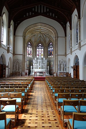 Clongowes Wood College - The Boys' Chapel at Clongowes Wood College SJ