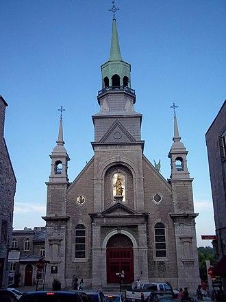 Notre-Dame-de-Bon-Secours Chapel - Image: Chapelle Notre Dame de Bon Secours 01