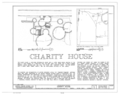 Charity House, State Route 32 and County Route 1 vicinity, Memphis, Pickens County, AL HABS ALA,54-MEM,2- (sheet 1 of 4).png