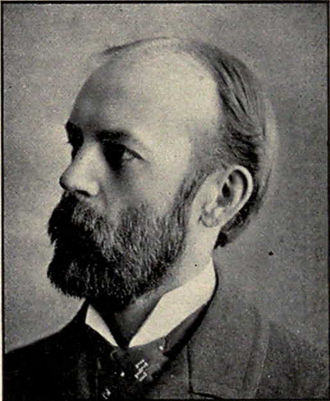 Charles Cooley - Cooley from 1902 Michiganensian