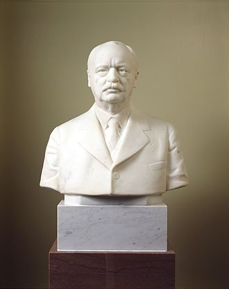 Charles Curtis - Charles Curtis' vice-presidential bust