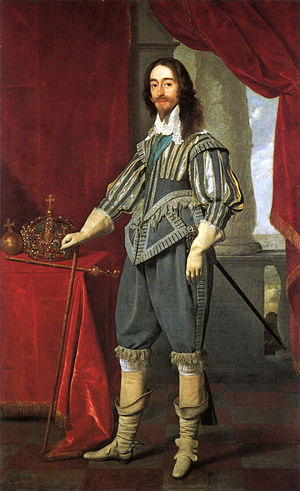 Spanish Match - Charles I portrait by Daniel Mytens, 1631.