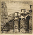 Charles Meryon, Pont-Neuf, Paris, 1853 n1.jpg
