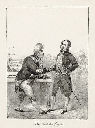 Gioachino Rossini - George IV (left) greeting Rossini at the Brighton Pavilion, 1823