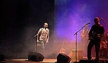 Checco Zalone in concerto nel 2008