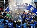 Chelsea 2 Spurs 0 - Capital One Cup winners 2015 (16668082146).jpg