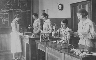 Reifenstein schools - Chemistry education, Maidhof 1926